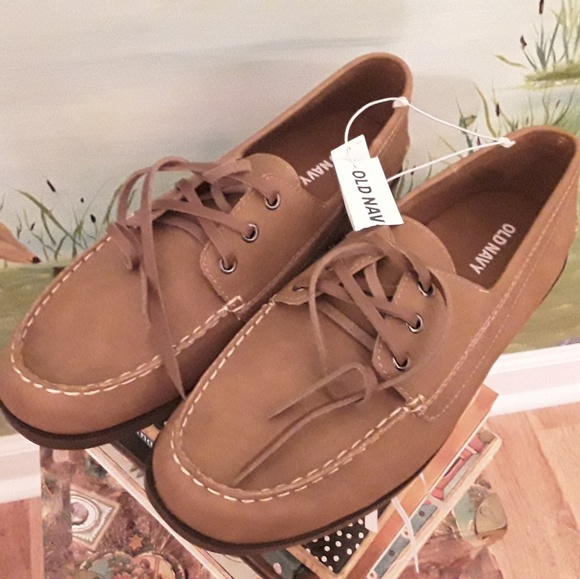 Old Navy Other - NWT OLD NAVY MEN'S SUEDE TAN LOAFERS SIZE 11